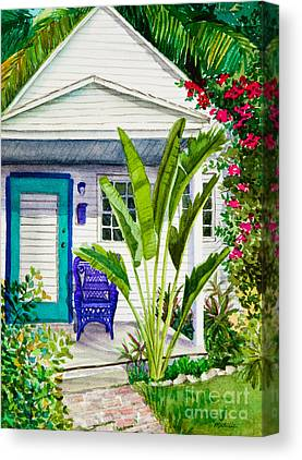 Fronds Canvas Prints