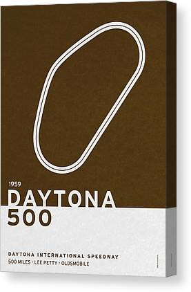Daytona 500 Canvas Prints