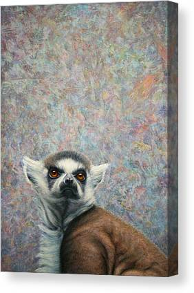 Ring Tailed Lemurs Canvas Prints