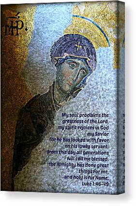 Icon Byzantine Photographs Canvas Prints