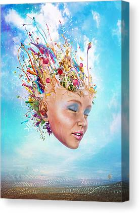 Creative Manipulation Canvas Prints
