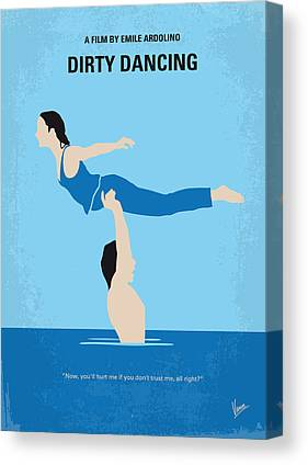 Dance Digital Art Canvas Prints