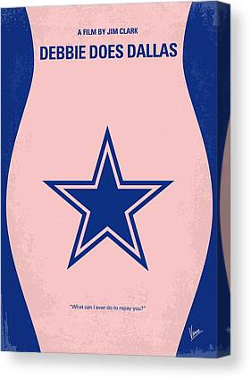 Dallas Cowboys Cheerleaders Canvas Prints