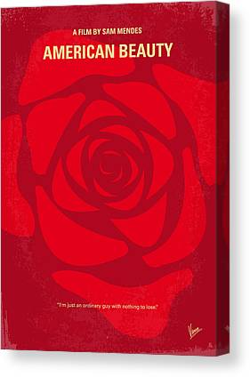 American Beauty Canvas Prints