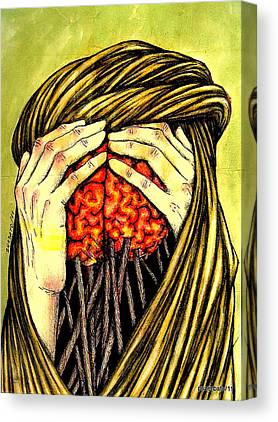 Lodged In Mind Canvas Prints