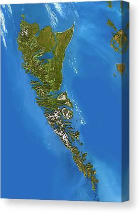 Queen Charlotte Islands Canvas Prints
