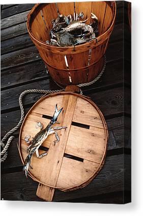 Bushel Basket Canvas Prints