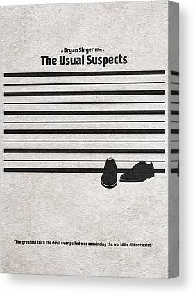 The Usual Suspects Canvas Prints
