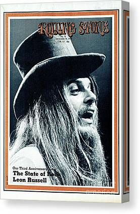 Leon Russell Canvas Prints