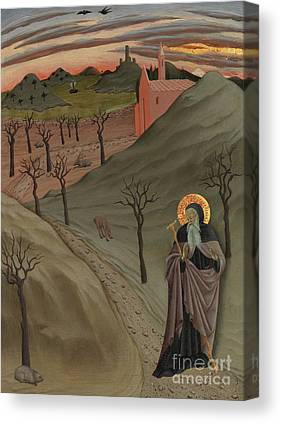 St Anthony The Great Canvas Prints