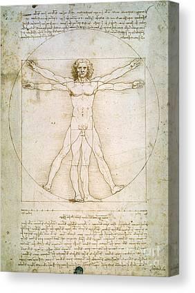 Vitruvius Canvas Prints