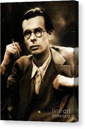 Aldous Huxley Canvas Prints