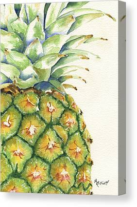 Pineapple Canvas Prints