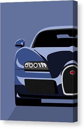 Bugatti Canvas Prints