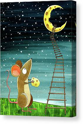 Mouse Canvas Prints