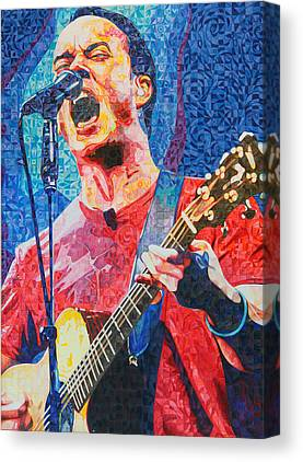 The Dave Matthews Band Canvas Prints