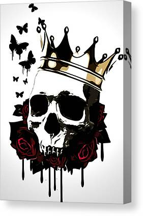 Skulls Canvas Prints