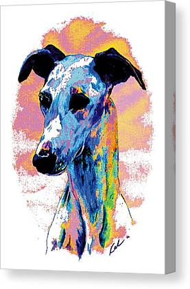 Sight Hound Canvas Prints