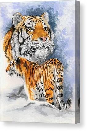 Siberian Tiger Canvas Prints