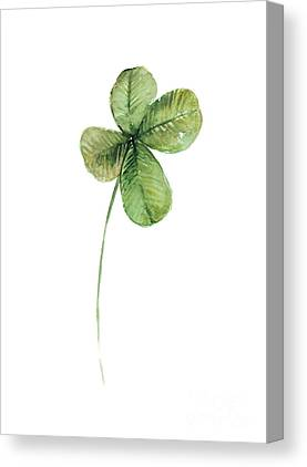 Clover Canvas Prints