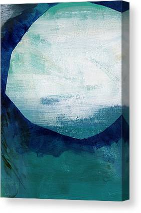 White Sand Canvas Prints