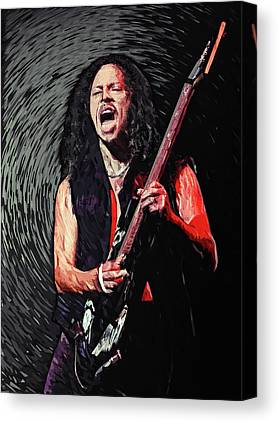 Cliff Burton Digital Art Canvas Prints