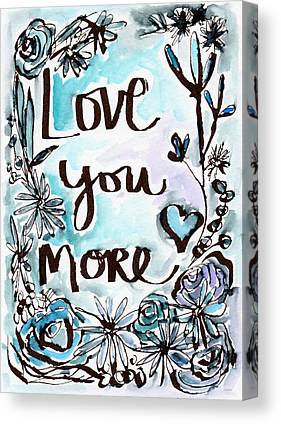 Love Notes Canvas Prints
