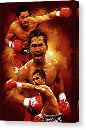 Manny Pacquio Canvas Prints