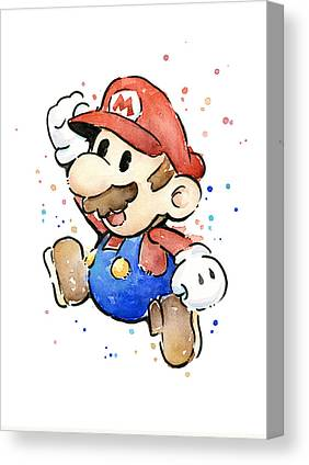 Super Mario Canvas Prints