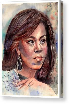 Oprah Canvas Prints