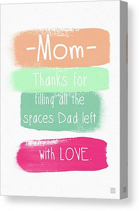 Single Mother Canvas Prints