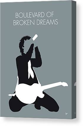 Green Day Canvas Prints