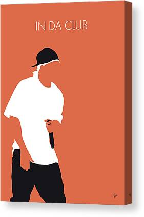 Eminem Canvas Prints