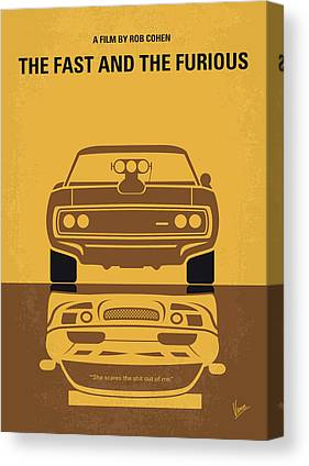 Muscle Cars Canvas Prints