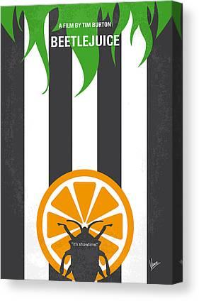 Beetlejuice Canvas Prints