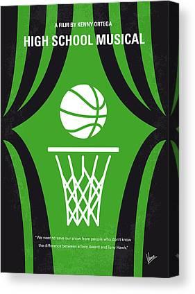 Basketball Teams Canvas Prints