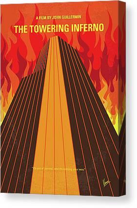 Inferno Canvas Prints