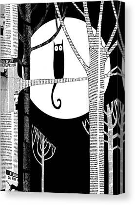 Moonshine Canvas Prints