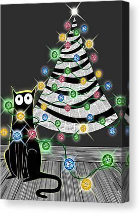 Christmas Tree Canvas Prints