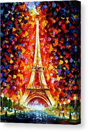 Eifel Canvas Prints