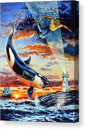 Newfoundlander Canvas Prints
