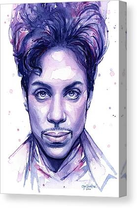 Prince Canvas Prints