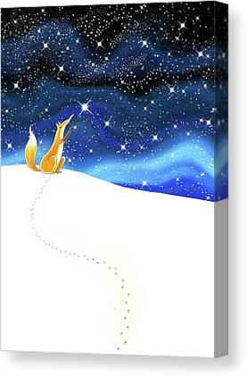 Reach For The Sky Canvas Prints