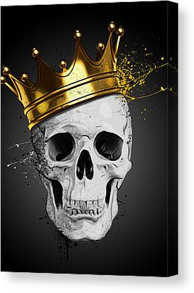Death Canvas Prints
