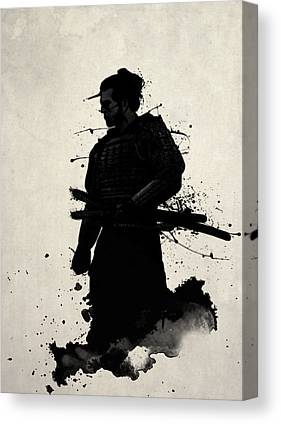 Warrior Canvas Prints