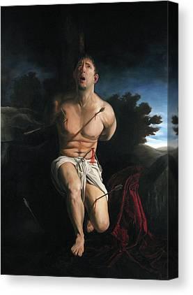 Saint Sebastain Canvas Prints