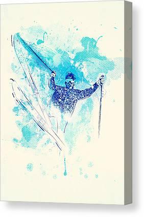 Athletes Canvas Prints