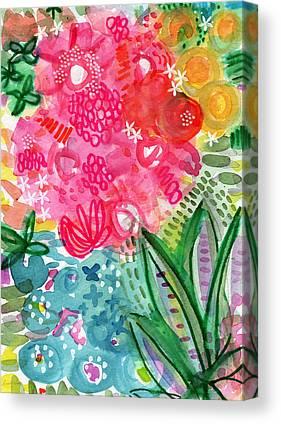 Nature Abstract Mixed Media Canvas Prints