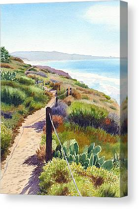 Walkway Canvas Prints