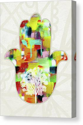 Hamsa Canvas Prints